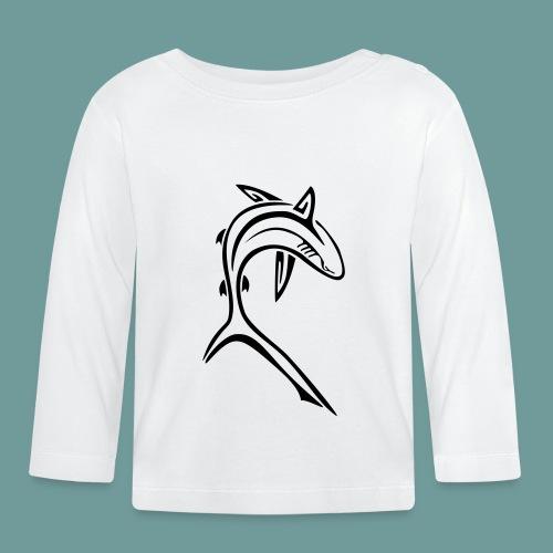 shark_light - T-shirt manches longues Bébé