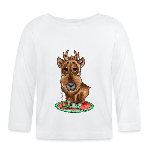 Reindeer refined scribblesirii - Baby Long Sleeve T-Shirt