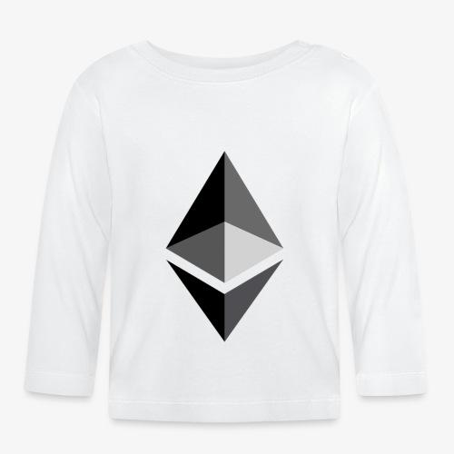 HODL-ethbig-b - Baby Long Sleeve T-Shirt