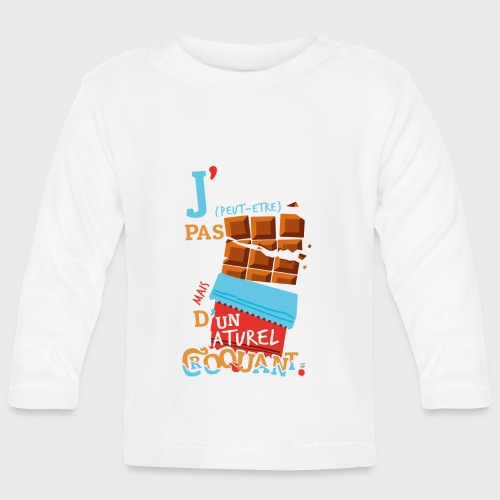Tablettes de Chocolat - T-shirt manches longues Bébé