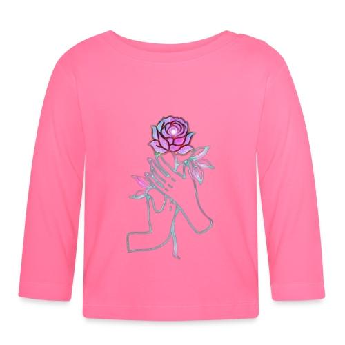Fiore - Maglietta a manica lunga per bambini