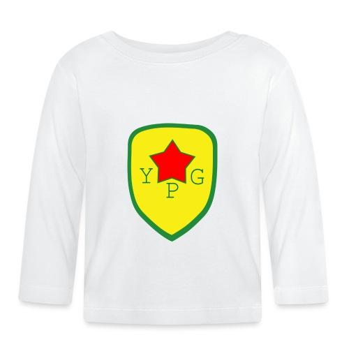 Unisex Red YPG Support Hoodie - Vauvan pitkähihainen paita