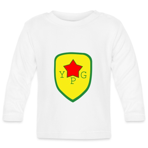 Mens Green YPG Support Tee - Vauvan pitkähihainen paita
