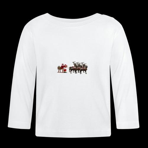 Père Noël - T-shirt manches longues Bébé