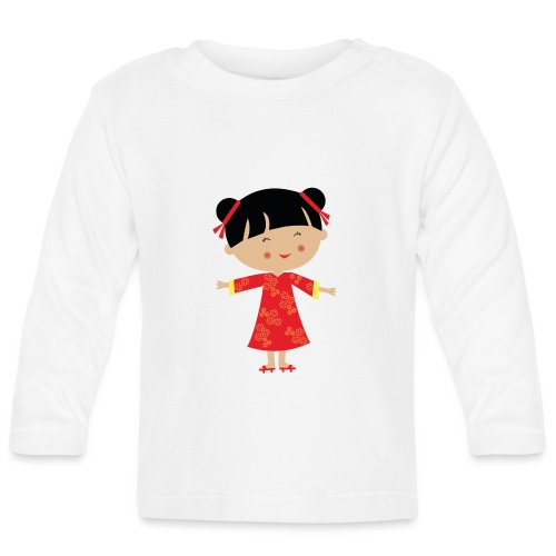 Happy Meitlis - China - Baby Langarmshirt