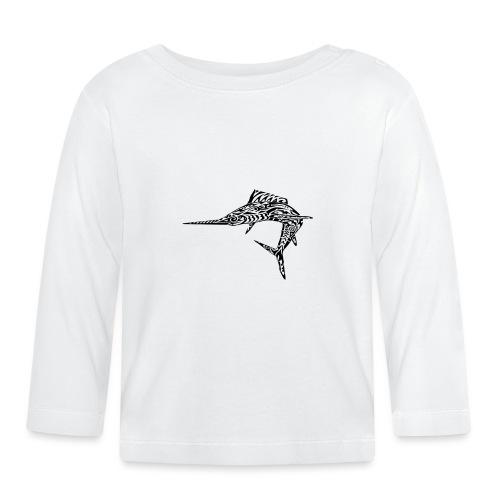 The Black Marlin - Baby Long Sleeve T-Shirt