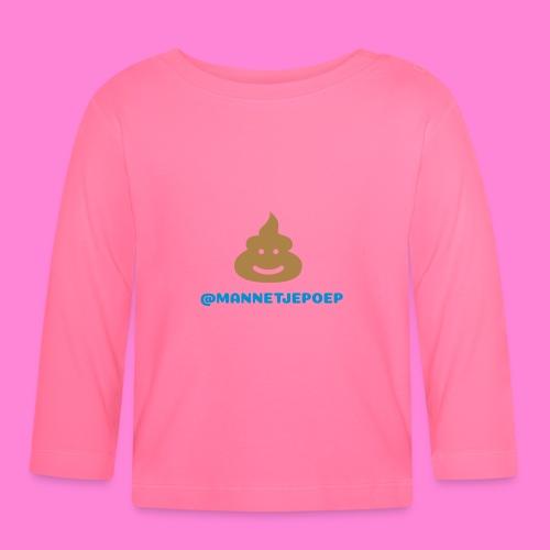 Mannetje Poep Shit - T-shirt