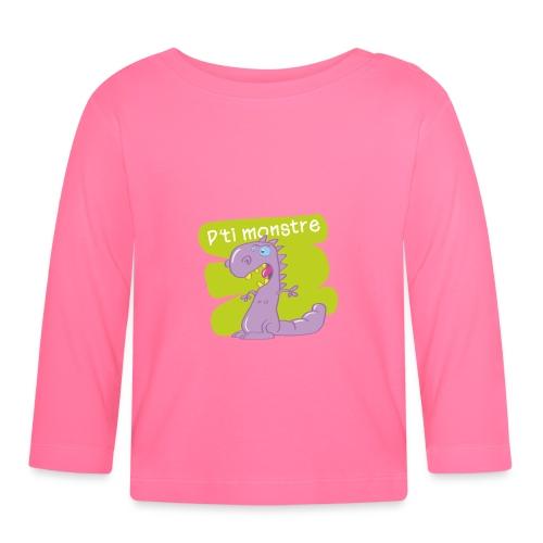 pt'i monstre1 - T-shirt manches longues Bébé
