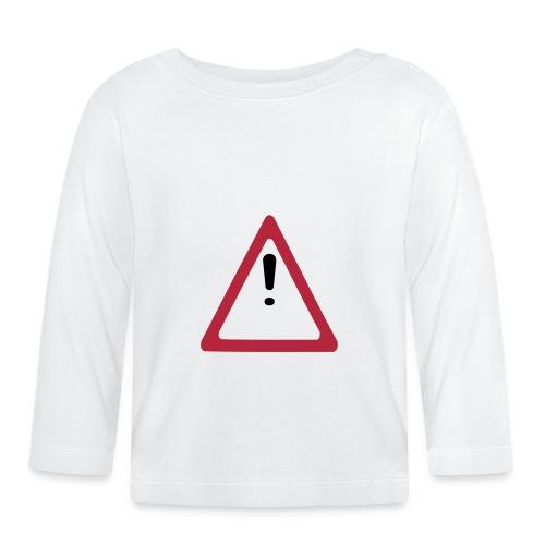 achtung vorsicht - Baby Langarmshirt