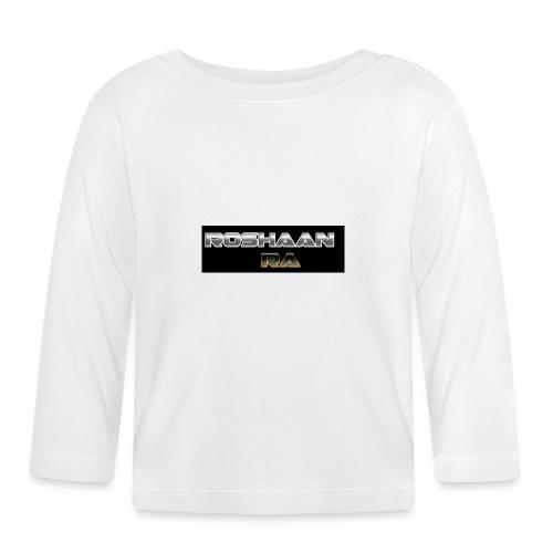 RoshaanRa GreyLogo - Baby Long Sleeve T-Shirt