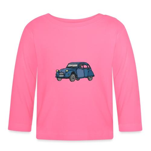 Blaue Ente 2CV - Baby Langarmshirt