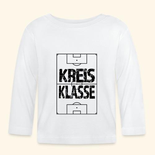 KREISKLASSE im Fußballfeld - Baby Langarmshirt