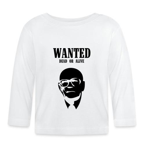 Kekkonen Wanted - Dead or Alive - Vauvan pitkähihainen paita