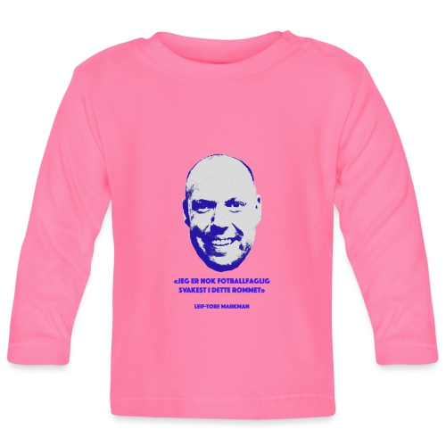 Markman - Langarmet baby-T-skjorte