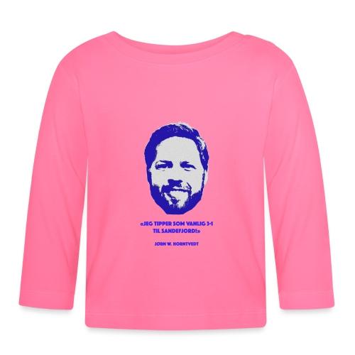 Horntvedt - Langarmet baby-T-skjorte