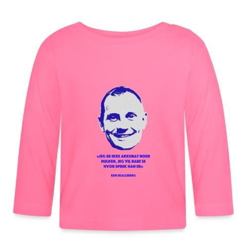 Skalleberg - Langarmet baby-T-skjorte
