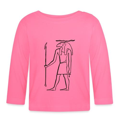 Ancien Dieu Egyptien - T-shirt manches longues Bébé