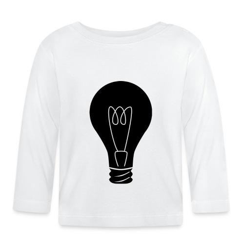Glühbirne - Baby Langarmshirt