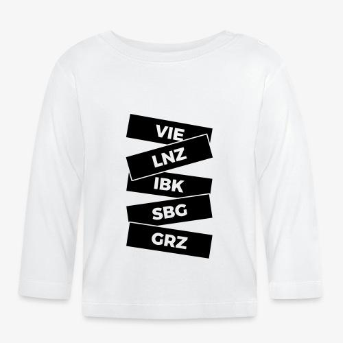 staedte Österreich - Baby Langarmshirt