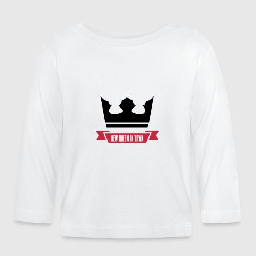 newqueen png - Langærmet babyshirt