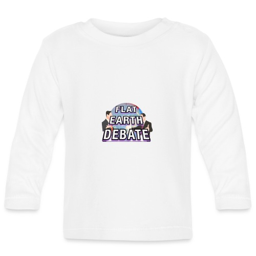 Flat Earth Debate - Baby Long Sleeve T-Shirt
