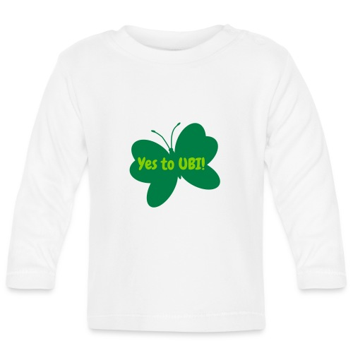 Free as a butterfly. - Baby Long Sleeve T-Shirt