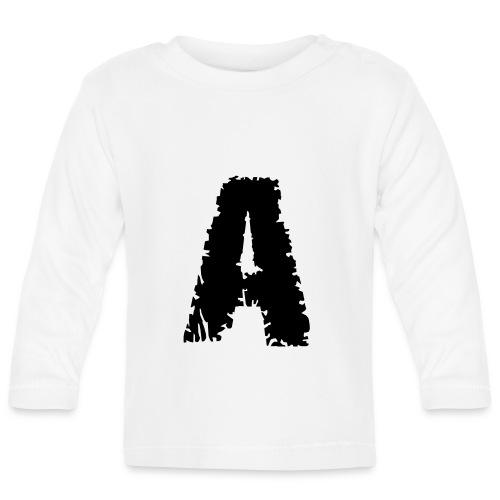 Zombie , Schriftart , - Baby Langarmshirt