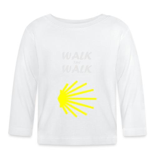 Walk the Walk - Camino de Santiago - Langærmet babyshirt
