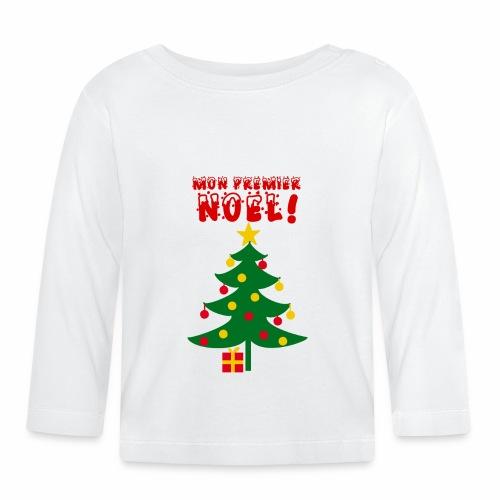 Mon Premier Noël - T-shirt manches longues Bébé