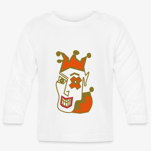 Crazy Jester by Brian Benson Men's Women's Premium - Baby Long Sleeve T-Shirt