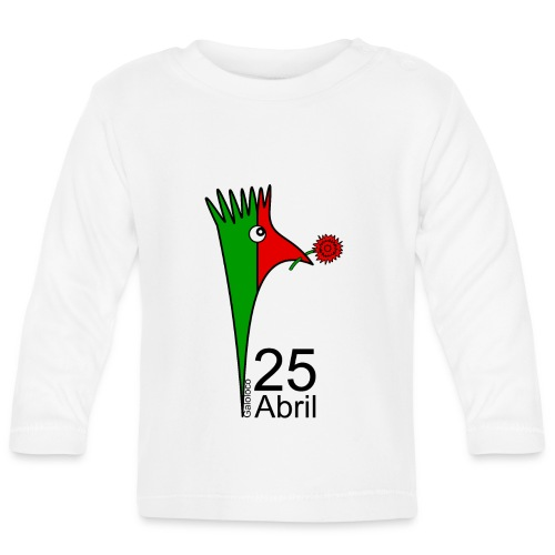 Galoloco - 25 Abril - Baby Long Sleeve T-Shirt