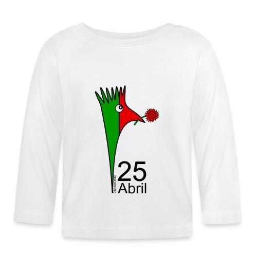 Galoloco - 25 Abril - T-shirt manches longues Bébé