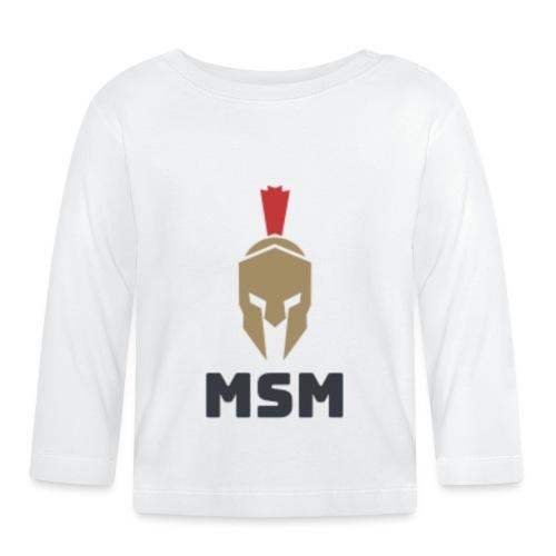 MSM Warrior - Langærmet babyshirt