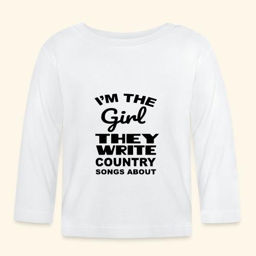 Meisje waar country muziek over wordt geschreven - T-shirt