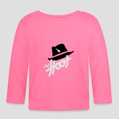 daeHoot_Shirt_Logo2_2c - Baby Langarmshirt