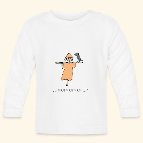 Krähe_therapie - Baby Langarmshirt