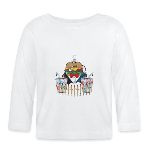 Hamburger army - Vauvan pitkähihainen paita
