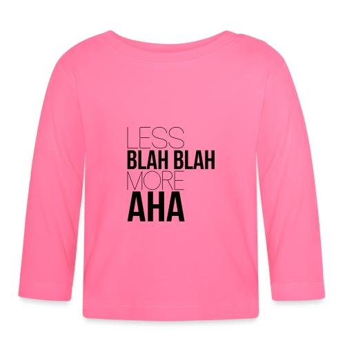 less blah blah - T-shirt manches longues Bébé