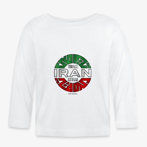 TEAM MELLI IRAN (FARSI) - Baby Langarmshirt