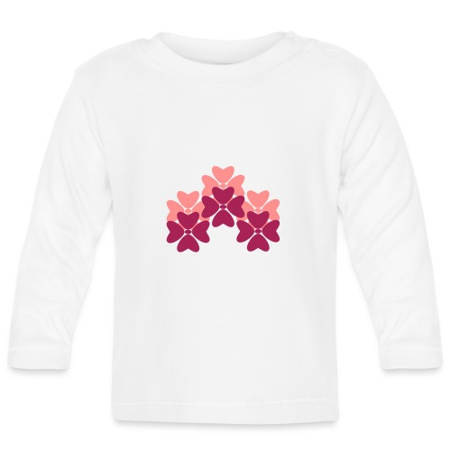 Flower Power - Baby Long Sleeve T-Shirt