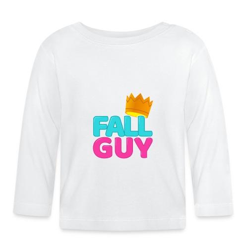 00292 Fallguy corona - Camiseta manga larga bebé