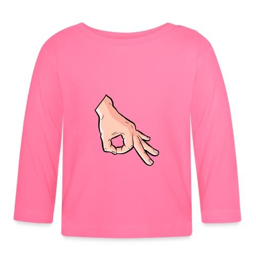 The Circle Game Ok Emoji Meme - Baby Long Sleeve T-Shirt