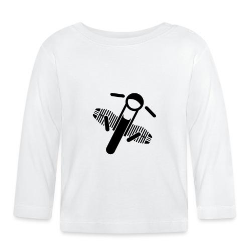 Motorrad Fahrer Shirt Boxerbike - Baby Langarmshirt
