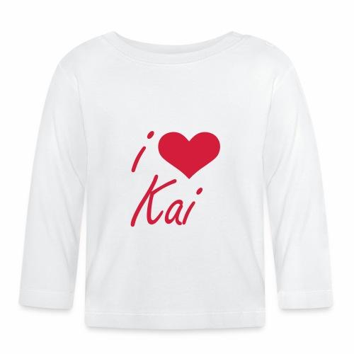 I love Kai - Baby Langarmshirt