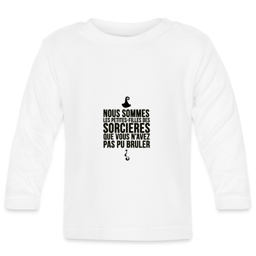 filles de sorcières - T-shirt manches longues Bébé