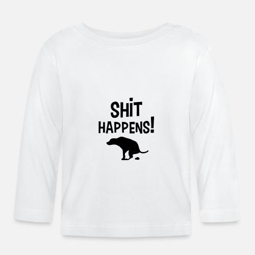 Shit Happens met Hond - T-shirt