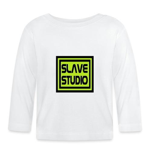 Slave Studio logo - Maglietta a manica lunga per bambini