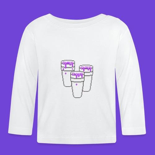 Purple - Maglietta a manica lunga per bambini