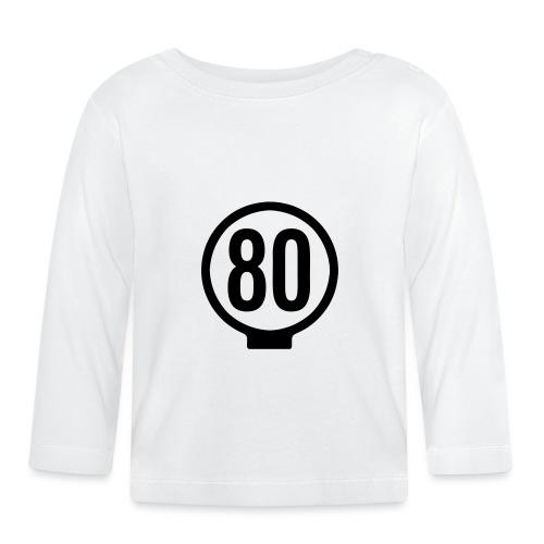 80-lätkä - kasikympin lätkä - Vauvan pitkähihainen paita