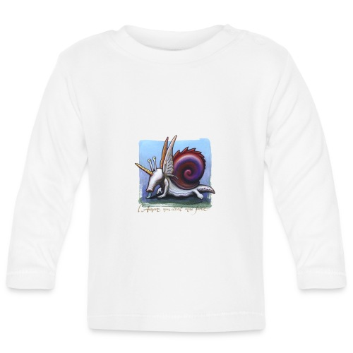 Unichiocciolo - Maglietta a manica lunga per bambini